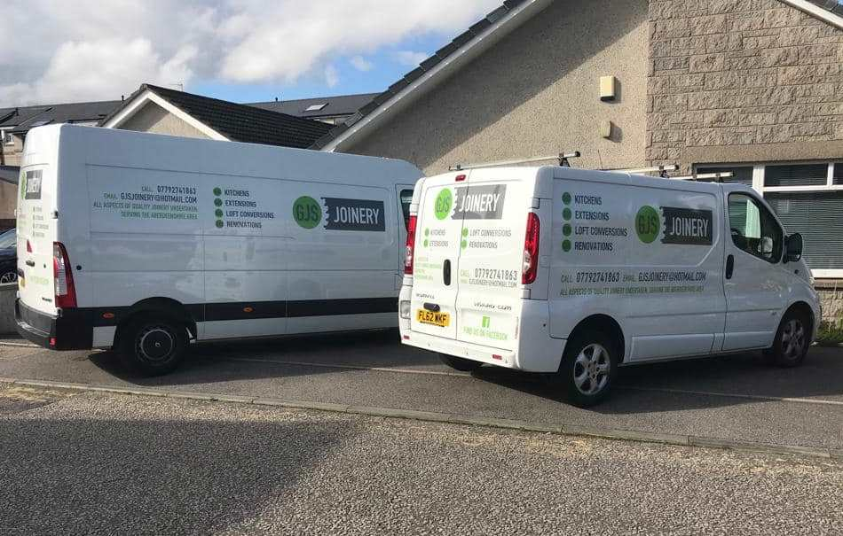 GSJ Joinery Van